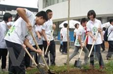 Tiếp tục hành trình 1 triệu cây xanh tại trường học