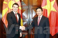 Macedonia muốn tăng quan hệ hữu nghị với VN