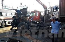 Tai nạn nghiêm trọng liên tiếp do xe container gây ra