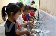 Rửa tay xà phòng giảm 35% khả năng lây tiêu chảy