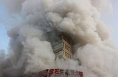 Trung Quốc: Cháy tháp thương mại, ba người chết