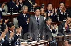Nội các mới của Nhật Bản tuyên thệ nhậm chức