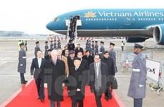 Tổng Bí thư kết thúc chuyến thăm ba nước châu Âu