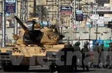 Ai Cập cho tổng thống triển khai quân đội trên phố