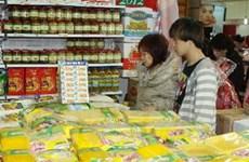 Nhiều sản phẩm hấp dẫn tại Hội chợ Xuân Giảng Võ