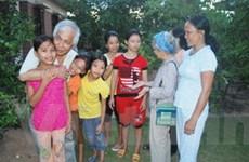 Tết yêu thương tại làng trẻ em SOS Đồng Hới