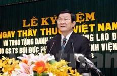 Chủ tịch nước thăm và làm việc tại Thừa Thiên-Huế