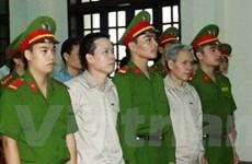 Xử vụ án giết người, chống người thi hành ở Tiên Lãng