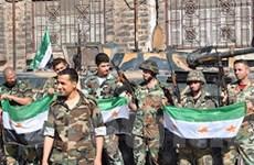 Syria: Lực lượng chính phủ đã giành lại tám thị trấn