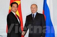 Thủ tướng Nguyễn Tấn Dũng hội kiến Tổng thống Putin