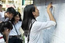 Gần một triệu thí sinh hoàn tất thủ tục thi tốt nghiệp