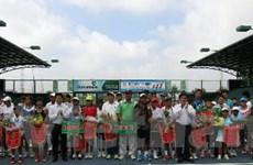 Đoàn TP.HCM nhất Giải Quần vợt thanh thiếu niên