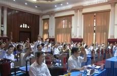 Tây Ninh, Hòa Bình lấy tín nhiệm chức danh chủ chốt