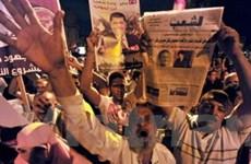 Cảnh sát Ai Cập bắn hơi cay giải tán người biểu tình