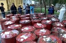 Khai quật chất thải nguy hại ở Nicotex trong 26 ngày