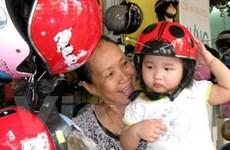 Hơn 29.000 mũ bảo hiểm tặng trẻ Hải Phòng, Đắk Lắk
