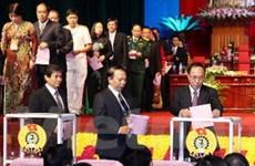 Bầu BCH Tổng Liên đoàn Lao động Việt Nam khóa XI