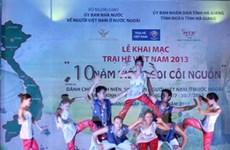 Trại hè Việt Nam 2013 - Tự hào dòng máu Lạc Hồng