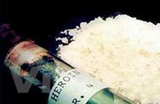 Phá băng ma túy Nigeria, thu 2 kg heroin