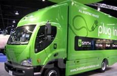Các doanh nghiệp Mỹ chuyển sang xe tải chạy điện