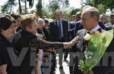Thủ tướng Putin lần đầu tiên thăm Abkhazia