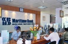 Lãi 9 tháng của Maritime Bank vượt kế hoạch năm