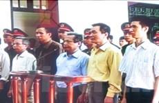 22 năm tù cho 6 bị cáo phạm tội chống Nhà nước