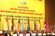 Việt Nam nhận chức chủ tịch Hiệp Hội Luật ASEAN