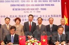 Trung Quốc viện trợ xây Cung hữu nghị Việt-Trung