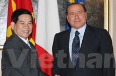 Italy coi trọng hợp tác nhiều mặt với Việt Nam