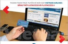 Mua vé máy bay trực tuyến bằng thẻ Techcombank