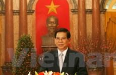 Chủ tịch nước chúc Tết tới đồng bào cả nước