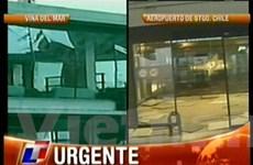 Động đất mạnh 8,8 độ Richter ở miền Trung Chile