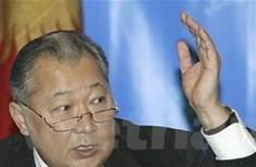 Biểu tình lớn đòi lật đổ Tổng thống Kyrgyzstan