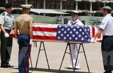 Lễ hồi hương hài cốt quân nhân Mỹ lần thứ 113