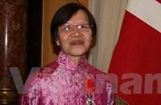 Một Việt kiều được nhận huân chương của Pháp
