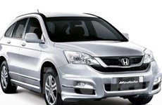 Honda Việt Nam ra mắt mẫu CR-V phiên bản mới