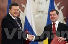 Ukraine đã phê chuẩn hiệp định biên giới với Nga