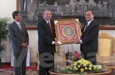 Đoàn đại biểu Quốc hội Việt Nam thăm Campuchia