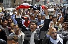 Biểu tình với quy mô lớn trên toàn quốc ở Yemen