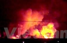 28 người bị thương trong vụ cháy kho đạn ở Nga