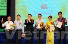 Giải báo chí Quốc gia 2010: TTXVN đoạt giải A