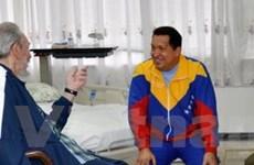 Tổng thống Venezuela quay lại Cuba chữa bệnh