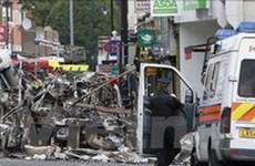 Bạo lực ở nước Anh bước sang đêm thứ 4 liên tiếp