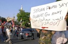 Mỹ lên án vụ tấn công Đại sứ Mỹ tại thủ đô Syria