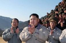 Đại diện ngoại giao nhận lời chào từ Kim Jong Un
