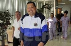 Tổng thống Venezuela Chavez sang Cuba để xạ trị