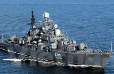 Đoàn tàu chiến của Nga tới Địa Trung Hải tập trận