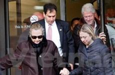 Hillary Clinton xuất viện