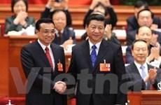 Quốc hội Trung Quốc chuẩn y danh sách nội các mới